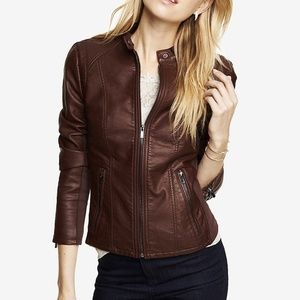 NWT Express (MINUS THE) Leather Jacket